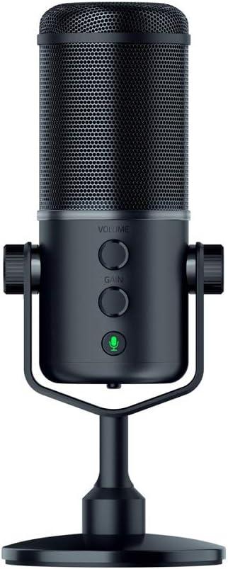 Razer Seiren Elite Studio Grade Multi Pattern Usb Digital Microphone And Headphone Amplifier Computers Accessories