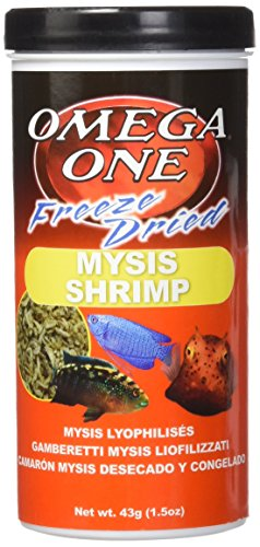 Mysis Shrimp - OMEGA One Freeze Dried Mysis Shrimp 1.5oz