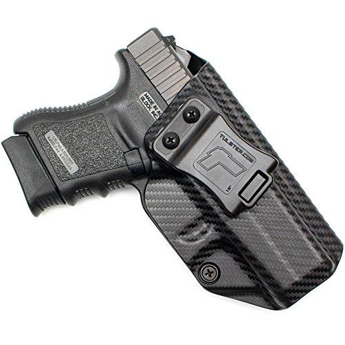 Glock 36 Holster - Tulster Profile Holster IWB (Black Carbon Fiber - Right Hand)