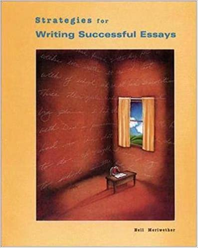 strategies for writing successful essays ntc language arts 1st edition - Strategies For Writing Essays