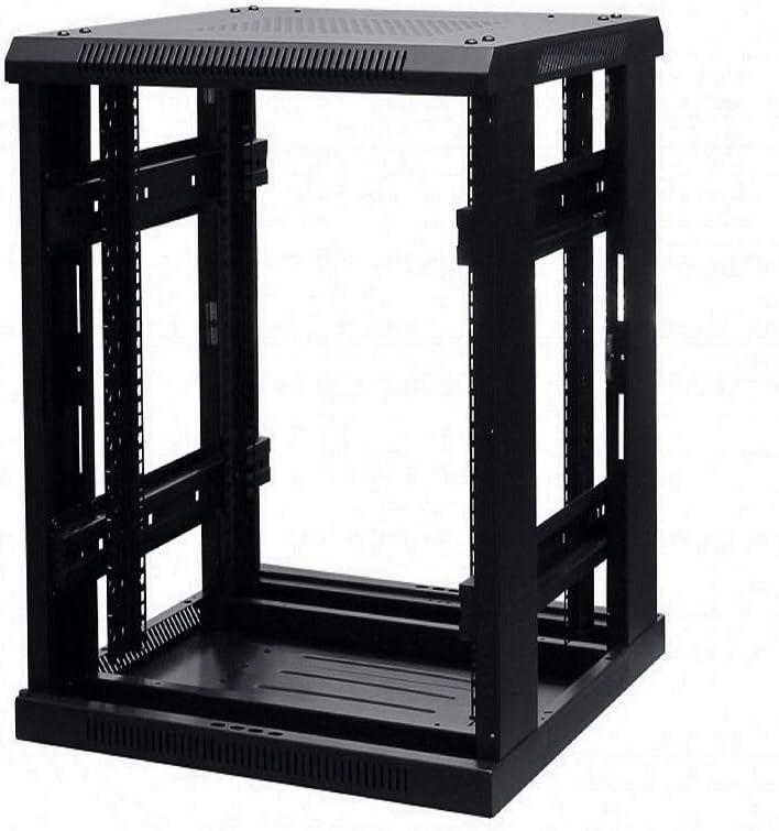 Gabinete de Datos de pie de Suelo Negro 24u 800 x 800 mm de Profundidad 19