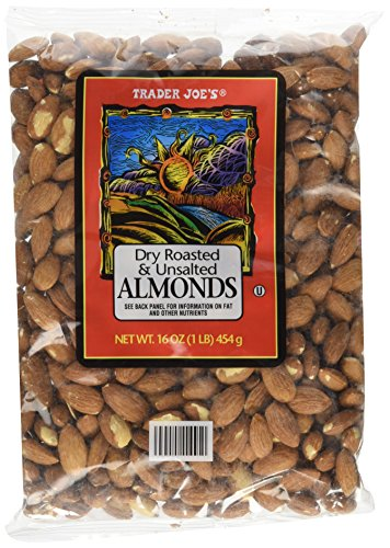 Trader Joes Roasted Unsalted Almonds