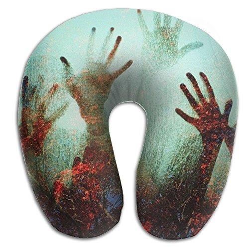 BOBIMU Scary Hand Super Comfortable Travel Pillow Neck Pillow Relex Pillow With Resilient Material For Men/Women