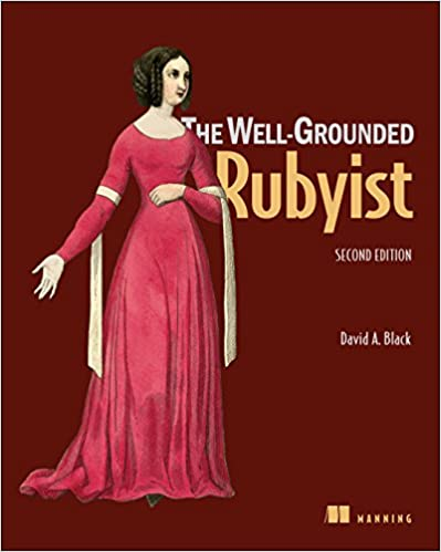 The Well-Grounded Rubyist, front cover