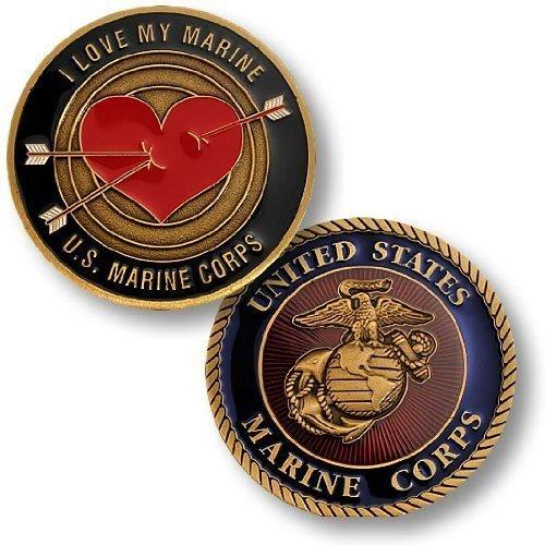Love My Marine Challenge Coin