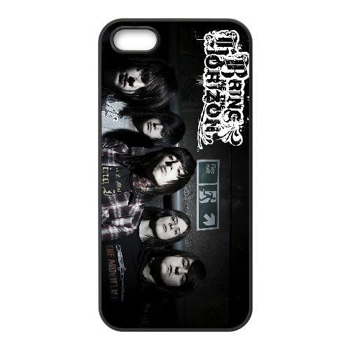 Bring Me The Horizon 003 coque iPhone 5 5S cellulaire cas coque de téléphone cas téléphone cellulaire noir couvercle EOKXLLNCD22434