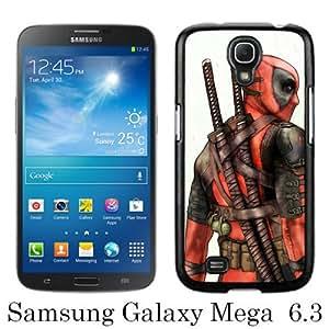 PAN Personalized Design Games And Comics Deadpool Black Samsung Galaxy Mega 6.3 i9200 i9205 Case