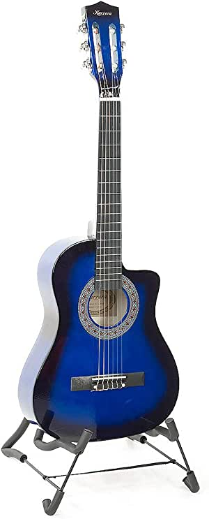 Karrera - Kids 34in Childrens Acoustic Guitar -Blue