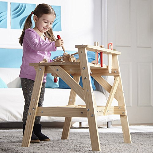 Melissa Amp Doug Solid Wood Project Workbench Play Building