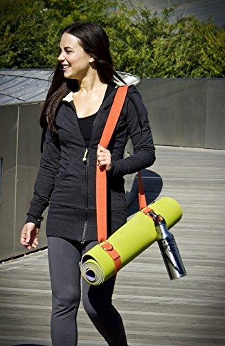 Natural Fitness Hemp Yoga Slingstrap (Flame)