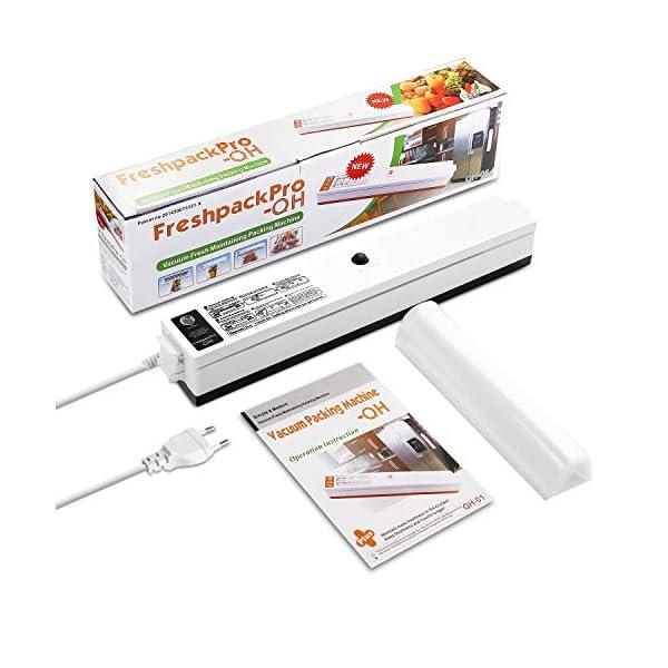 Macchina Sottovuoto per Alimenti, iLmyh Sigillatore Automatico Sottovuoto per Alimenti Freschi Sia Secchi Che Umidi… 7