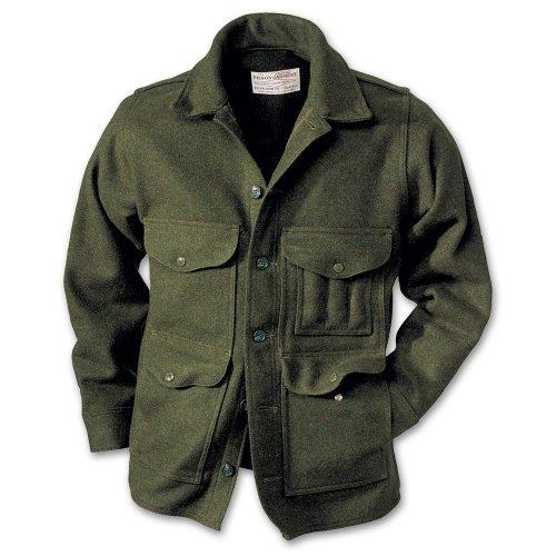 Filson10044 Extra Long Wool Mackinaw Cruiser (38, Forest Green) ()