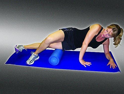 Pro-Tec Athletics Foam Roller (Blue, 6-Inch x 18-Inch)