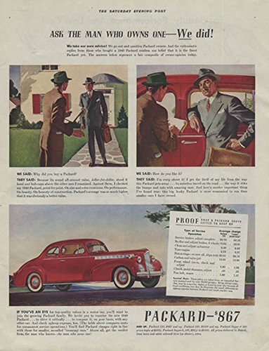 Ask the man who owns one - We did! Packard 110 Coupe, used for sale  Delivered anywhere in USA