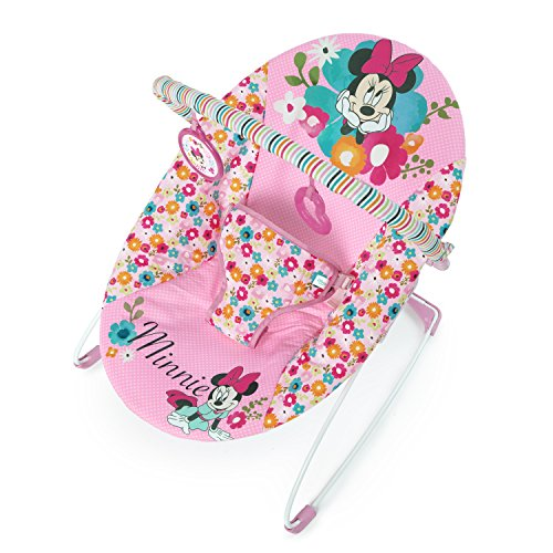 Disney Baby Minnie Mouse Perfect Vibrating Bouncer, Pink from Disney