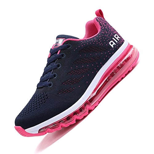 De Fitness Gym Sneakers Shoes Chaussures Sports Course Outdoor Baskets Rose Homme Running bleu Femme tqpggC