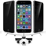 Josi Minea [ Apple iPhone 6 Plus ] Privacy Tempered Glass Screen Protector Anti Spy Ballistic LCD Screen Cover Guard Premium HD Shield for Apple iPhone 6 Plus & iPhone 6S Plus