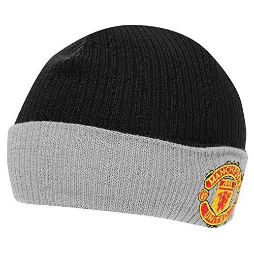 29db593bd8a39 Manchester United FC - Gorro de punto para invierno oficial de Manchester  United FC para niños