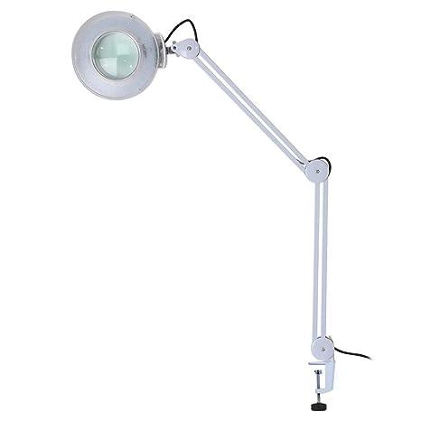 Amazon.com: LED lámpara de aumento, 8 x lupa LED lámpara con ...