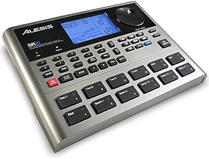 Alesis SR18 - Caja de ritmos con calidad de estudio, biblioteca de sonidos de percusión y batería, 12 pads sensibles a la intensidad, entradas/salidas para óptima funcionalidad y efectos/procesadores: Amazon.es: Electrónica