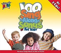 100 Singalong Songs For Kids [Audio CD] Cedarmont Kids