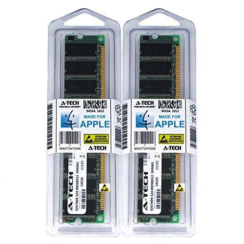 A-Tech for Apple 2GB Kit 2X 1GB PC3200 400MHz Power Mac G5 Mid 2004 Late 2003 Early 2005 M9031LL/A A1047 M9032LL/A M9393LL/A M9455LL/A M9457LL/A M9748LL/A M9749LL/A Memory RAM (G5 Apple Ram)