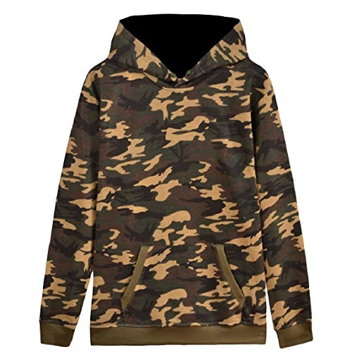 (Freely Men's Velvet Pocket Sweethearts Pullover Loose Solid Color Hoodies AS2 L)