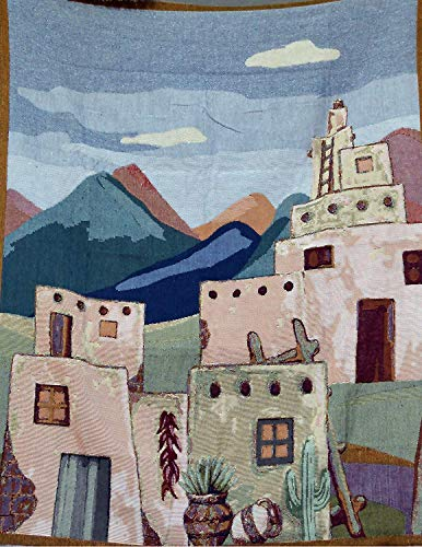 Tache Americana South Village South Western Woven Tapestry Throw Blanket, 50