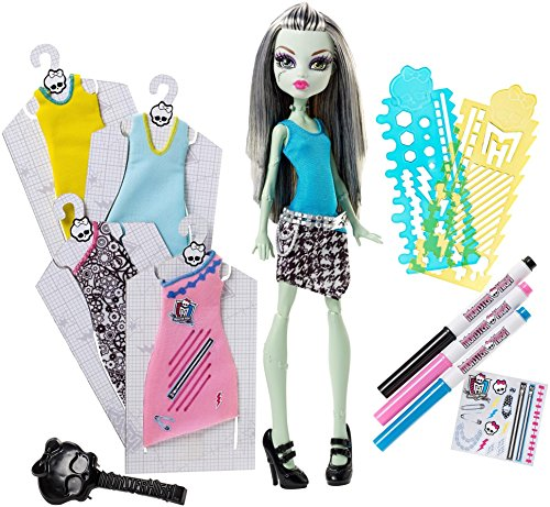 Monster High Designer Booo-tique Frankie Stein Doll & Fashions]()