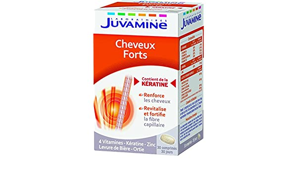 Amazon.com: Juvamine Strong Hair 30 Tablets by Juvamine: Health & Personal Care