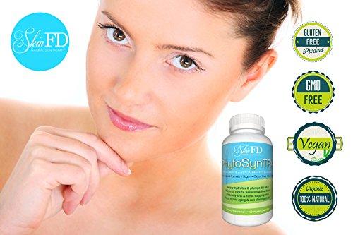 PhytoSynTPX - Лучшие 350 мг Triple Action, быстродействующий Расширенный морщин Уменьшение и Предотвращение Anti-Aging Уход за кожей решение - 100% удовлетворение гарантировано - Phytoceramides с витаминами A, C, D & E - Ваш Интенсивный Retexturing кожи,