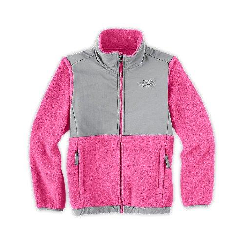 The North Face Girls Denali Jacket Cha Cha Pink Size Large