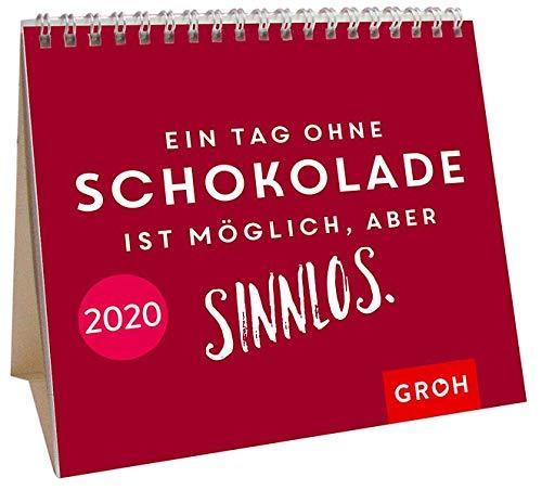 Ein Tag Ohne Schokolade Ist Möglich Aber Sinnlos 2020  Mini Monatskalender