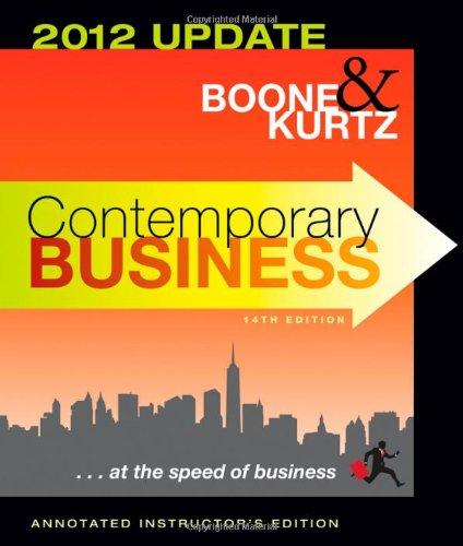 Contemporary Business 2012