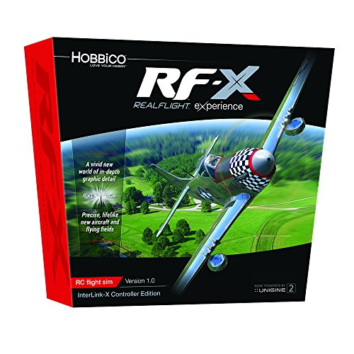 Great Planes RealFlight X Radio Controlled Flight Simulator Software with InterLink-X ()