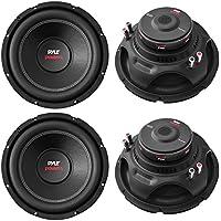 4) NEW Pyle PLPW15D 15 8000W Car Subwoofers Audio Power Subs Woofers DVC 4 Ohm