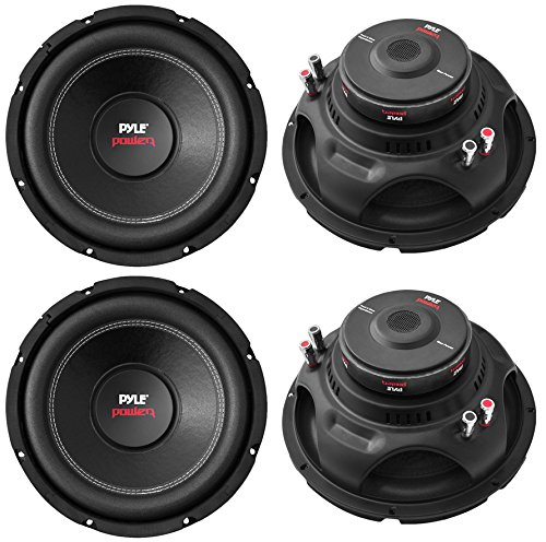 4) NEW Pyle PLPW15D 15' 8000W Car Subwoofers Audio Power Subs Woofers DVC 4 Ohm