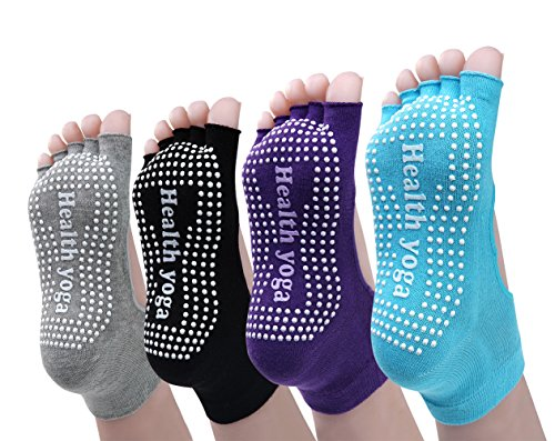 Cosfash Non Slip Skid Yoga Socks