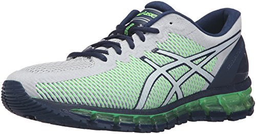 ASICS Men Gel-Quantum 360 Mid Grey/White/Green Gecko