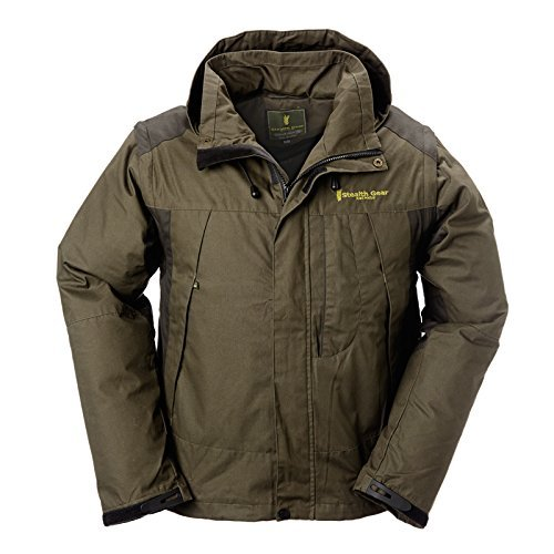 Stealth Gear Ultimate Freedom Multi-Season Condor Waterproof Outdoor Jacket Vest - Green/Black, Small by Stealth Gear by Stealth Gear