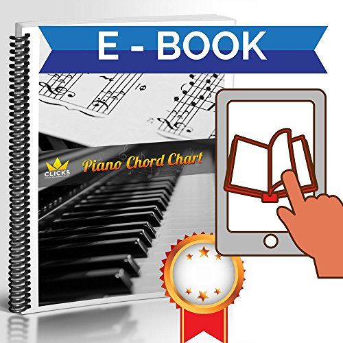Piano Keyboard Dust Cover for 88 Keys - Piano Chord EBook Included - Made of Nylon / Spandex - Comes Complete with Built-In Bag, Elastic Cord and - Locking Clasp - Keep It Free From Dust and Dirt! by Clicks Depot (Image #5)