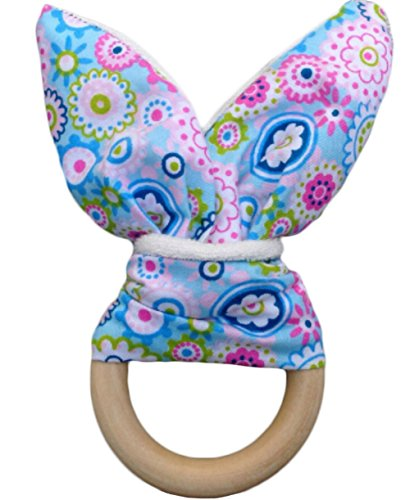 Safety Handmade Wooden Baby Teething Ring Teether Training for sale  Delivered anywhere in USA