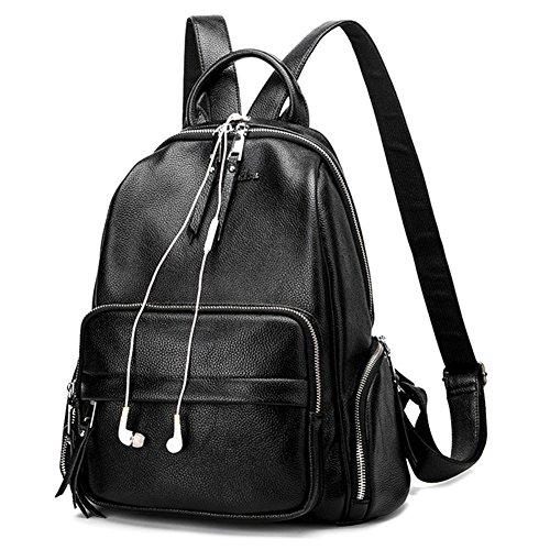 Black Patent Leather Duffle Bag - 9