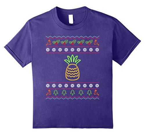 80s Purple Vintage Sweater - 1