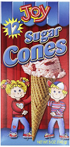 Joy Cone, Sugar Cone, 12 ct, 5 oz ()