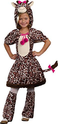 Morris Costumes Big Girl's Gigi Giraffe Child Costume Medium (Gigi Giraffe Girls Costume)