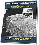 Irish Crochet Bedspread No.6063 Vintage Crochet Pattern