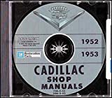 1952 1953 CADILLAC FACTORY REPAIR SHOP & SERVICE MANUAL CD INCLUDES Series 62, El Dorado & Coupe Deville, Series 60 Fleetwood & Special Fleetwood, and Series 75 Fleetwood.. 52 53