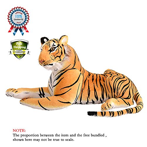 Tiger leopard Baby Plush Toy Stuffed Animal Doll Baby Birthday Shower Gift #1