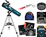 Orion 21100 Space probe LI Reflector Kit Reflecting Telescope, Teal